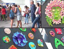Delfinariul vă întâmpină cu flori… din ceramică, viu colorate (video)