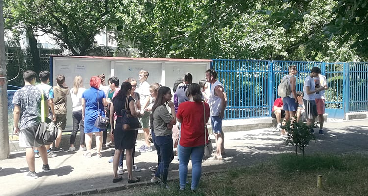 Liceul Ovidius a devansat Mircea la Ecvaluare