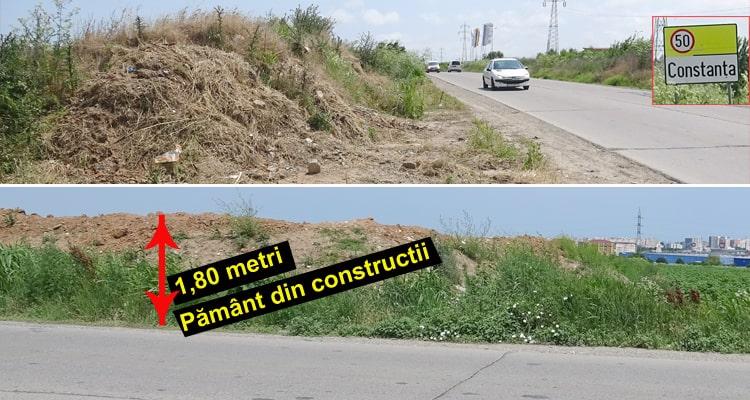 Varianta Constanta Ovidiu groapa gunoiului din constructii