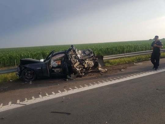 accident autostrada2