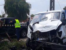 Accident în comuna Chirnogeni! Patru victime transportate cu elicopterul la spital