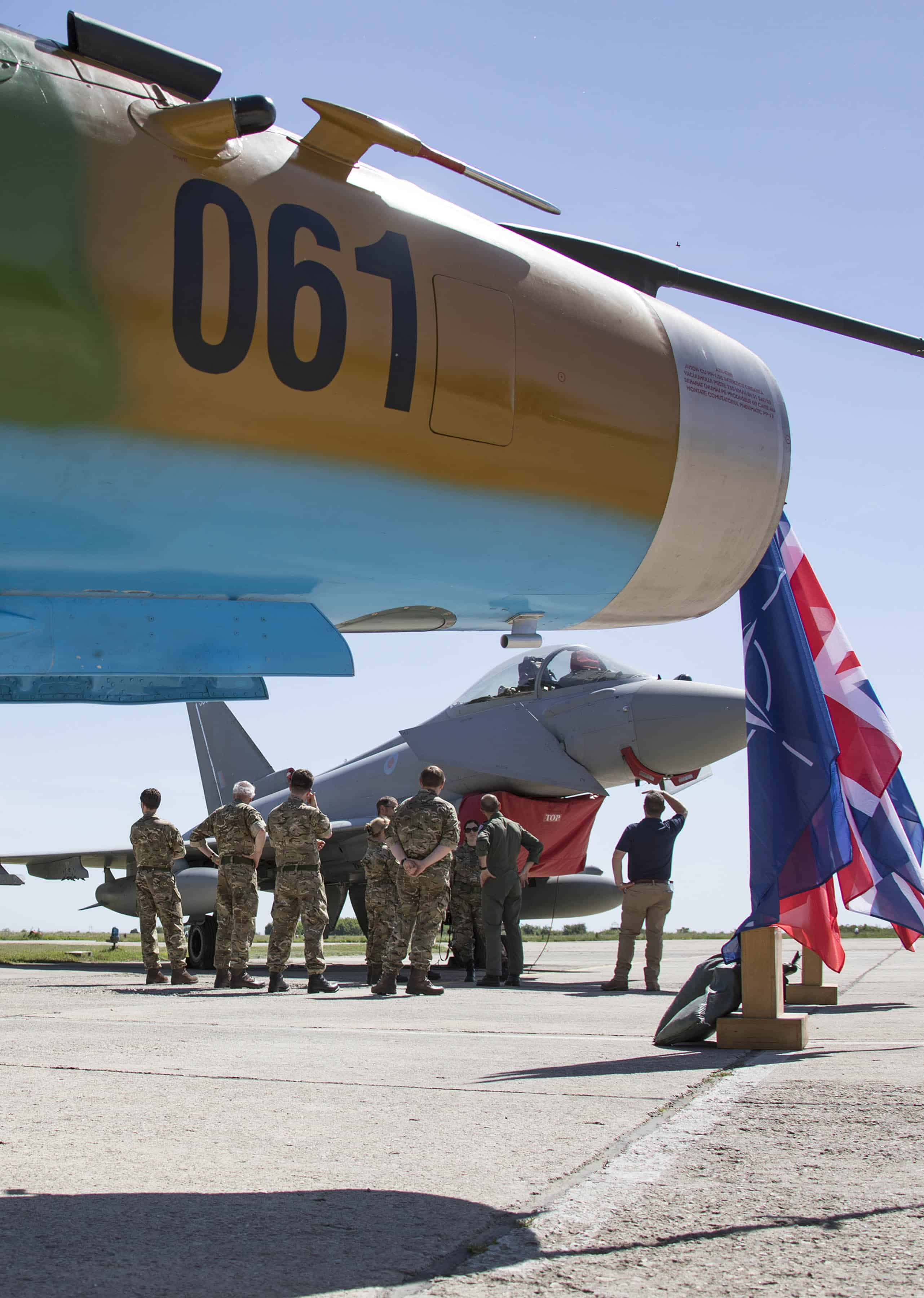 Members of Parliament experience life as a deployed member of the Royal Air Force.