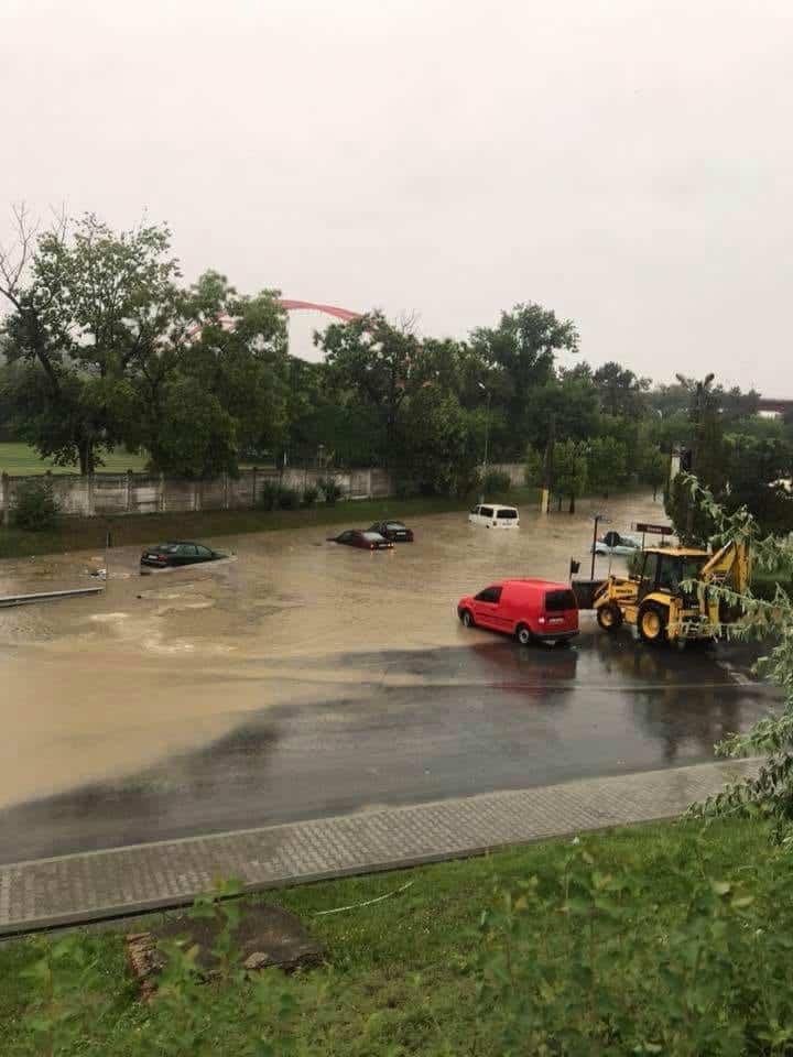 inundatii Cernavoda iulie2018