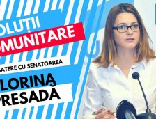 Dezbatere publică la Năvodari. Senatorul Florina Presadă vine să discute despre problemele curente ale românilor