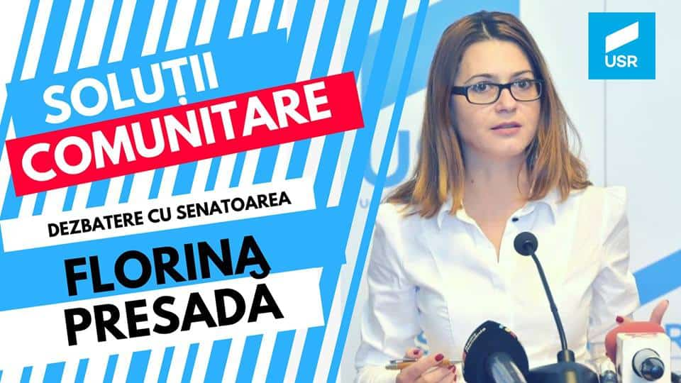 Florina Presada – USR – dezbatere Navodari