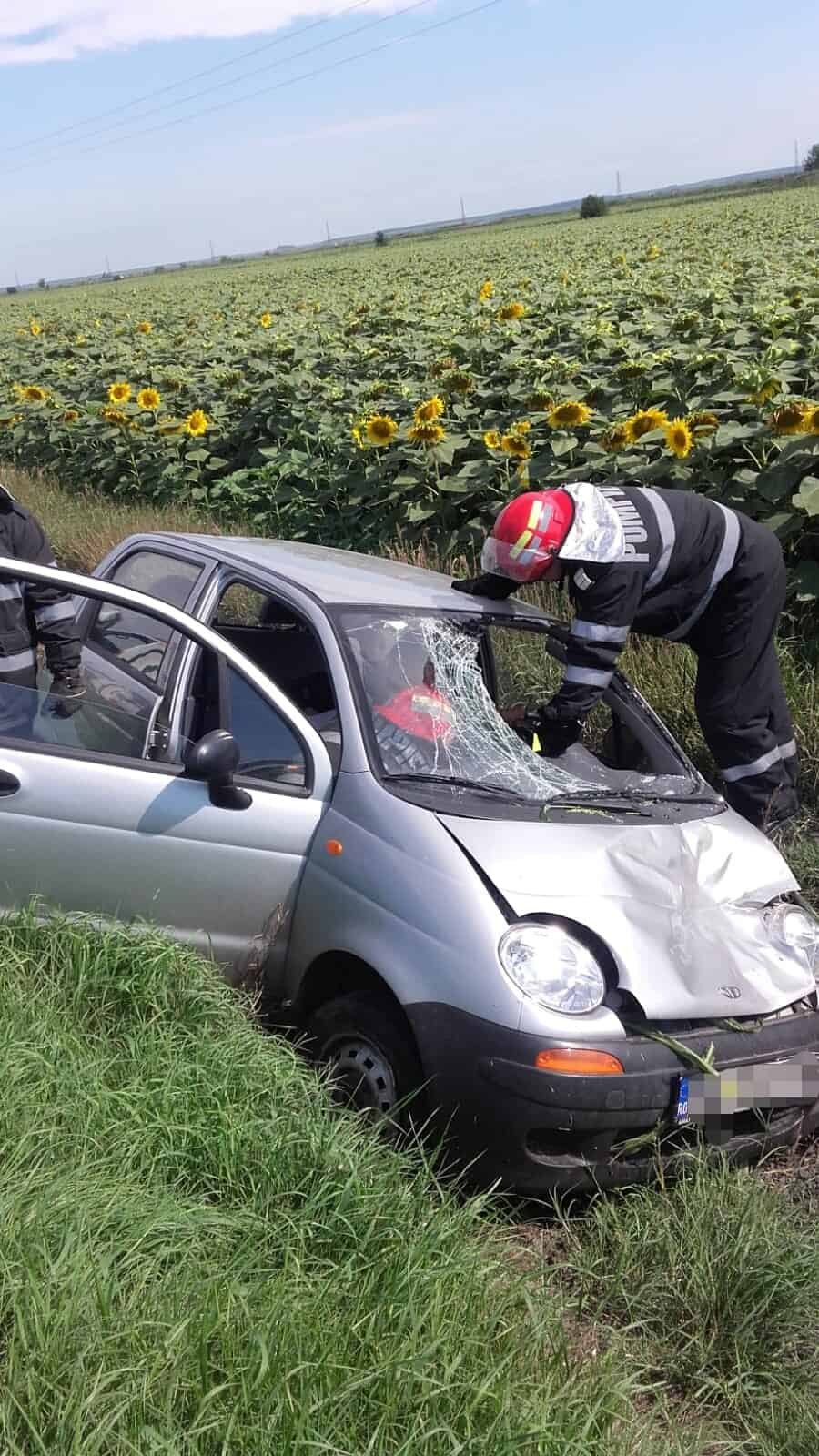 accident Giurgeni