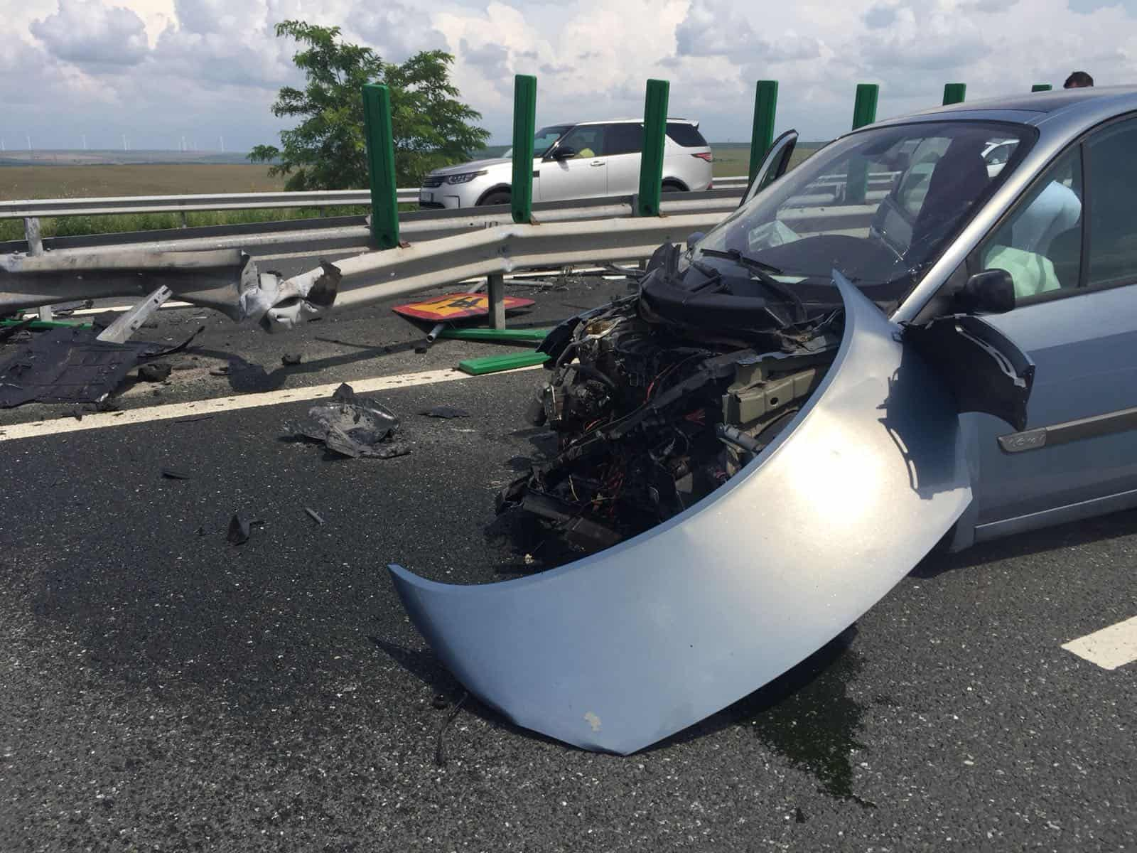 accident autostrada duminica