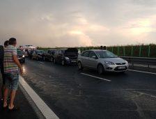 Accident rutier pe Autostrada Soarelui! Sunt șase mașini implicate