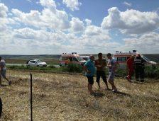 Accident rutier cu șase victime la Ovidiu! A plecat și elicopterul pentru a prelua un copil