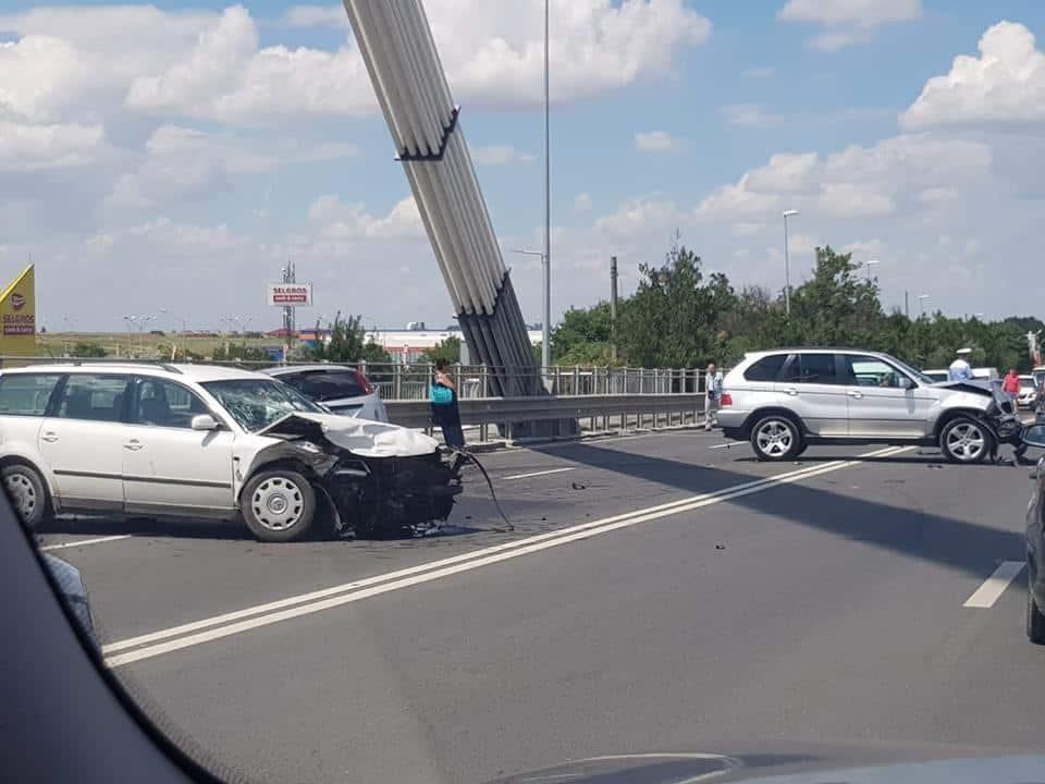 accident pe podul de la agigea