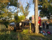 Șoferul care a produs accidentul de la Ovidiu era băut! Ocupanții mașinii au scăpat cu viață