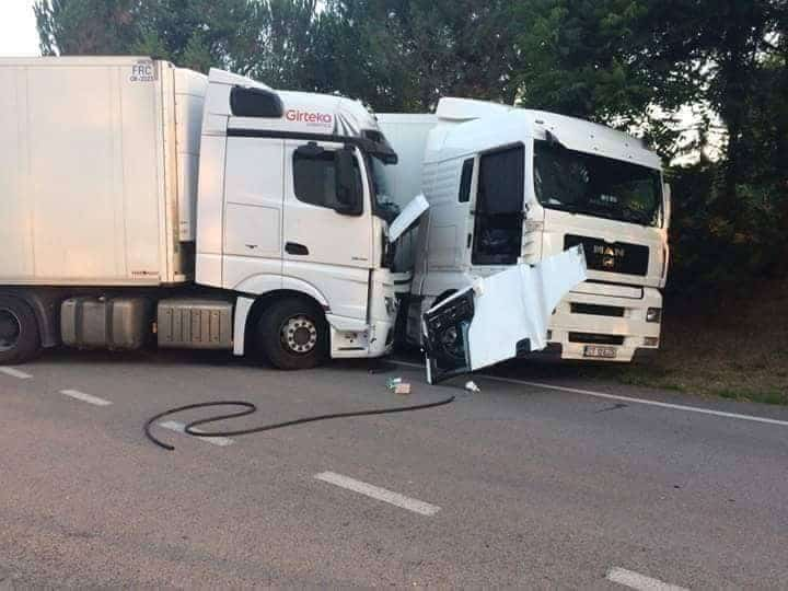 accident tir in spania