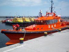 Nava de căutare și salvare SAR Artemis, în portul Constanța! A fost construită în șantierul Baltic Workboat