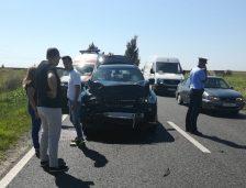 Accident rutier între Lumina și Ovidiu. Sunt 3 victime, intervine elicopterul SMURD