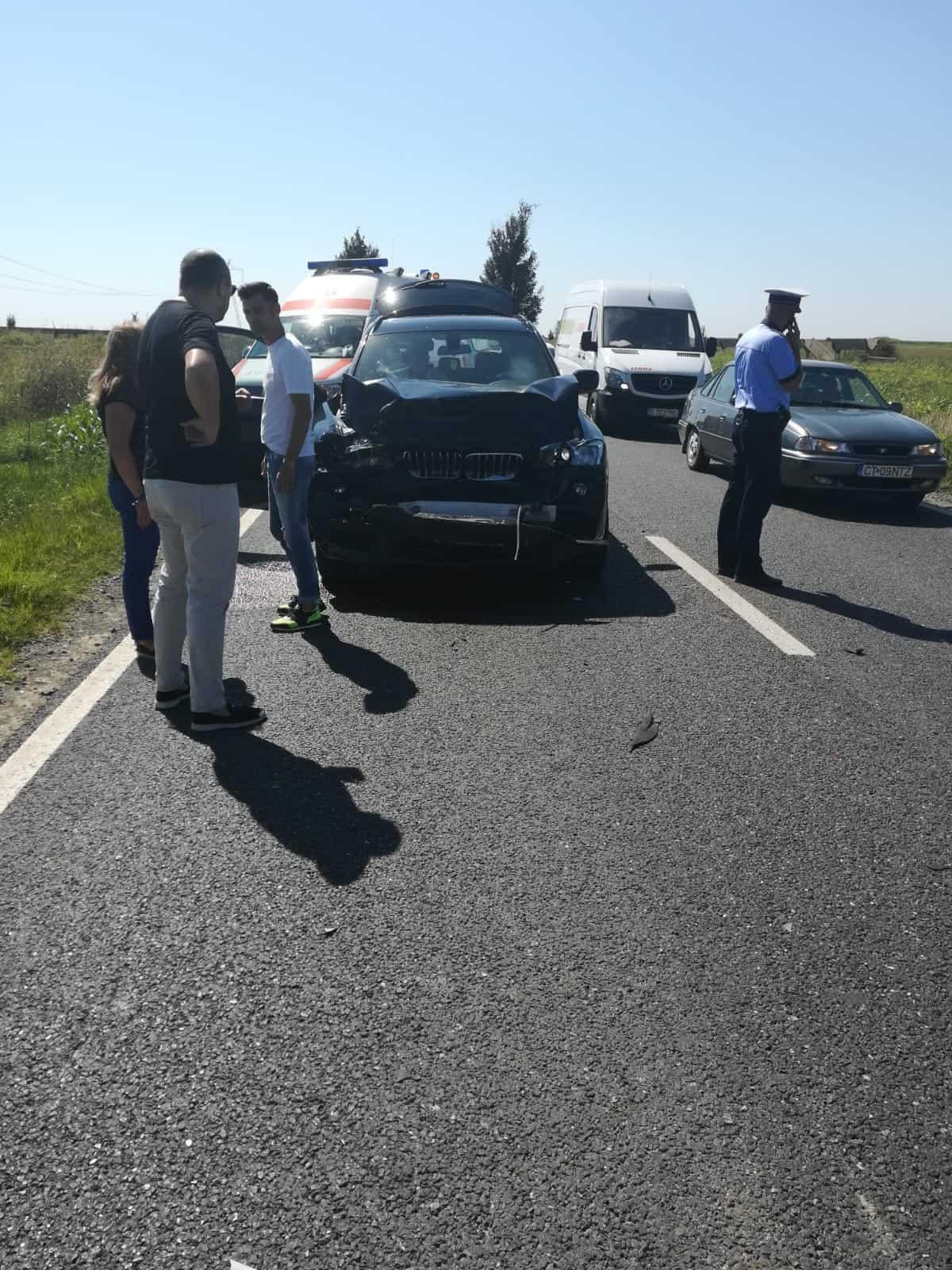 accident rutier Ovidiu