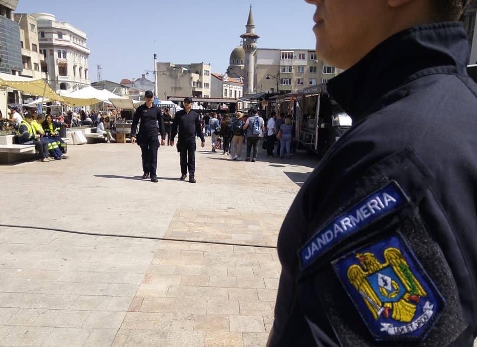 jandarmerie piata ovidiu