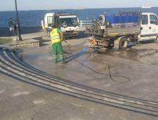 Angajații Polaris M Holding au pregătit faleza de la Cazoniul din Constanța pentru Ziua Marinei