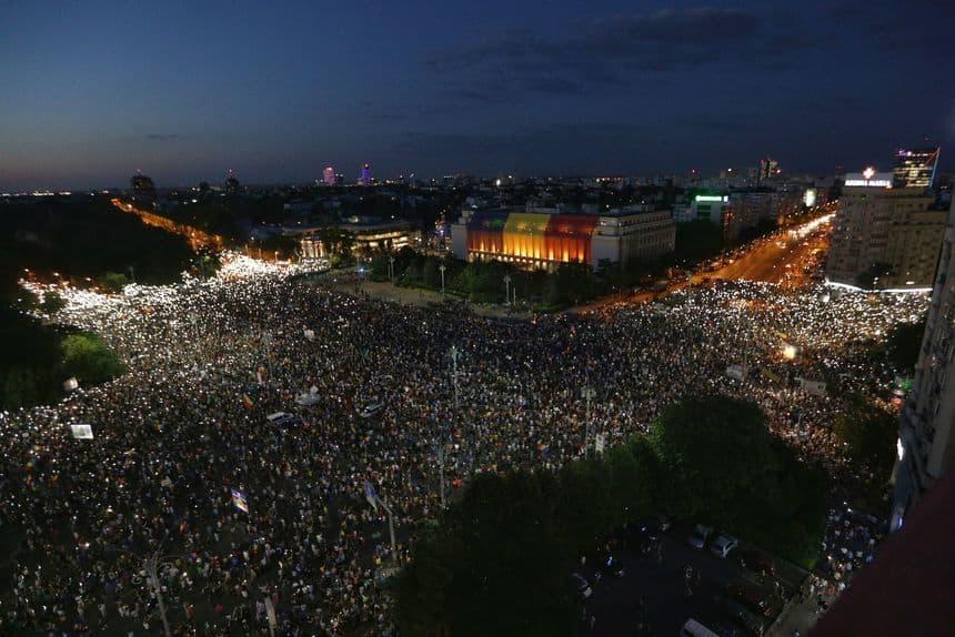 protest diaspora Piata Victoriei
