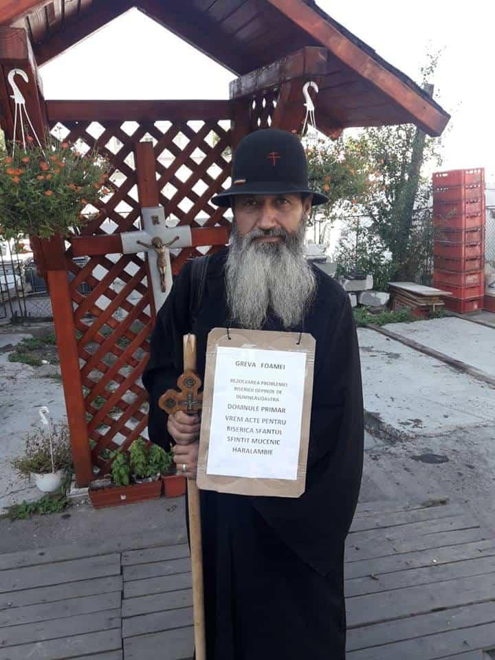 protest pentru biserica