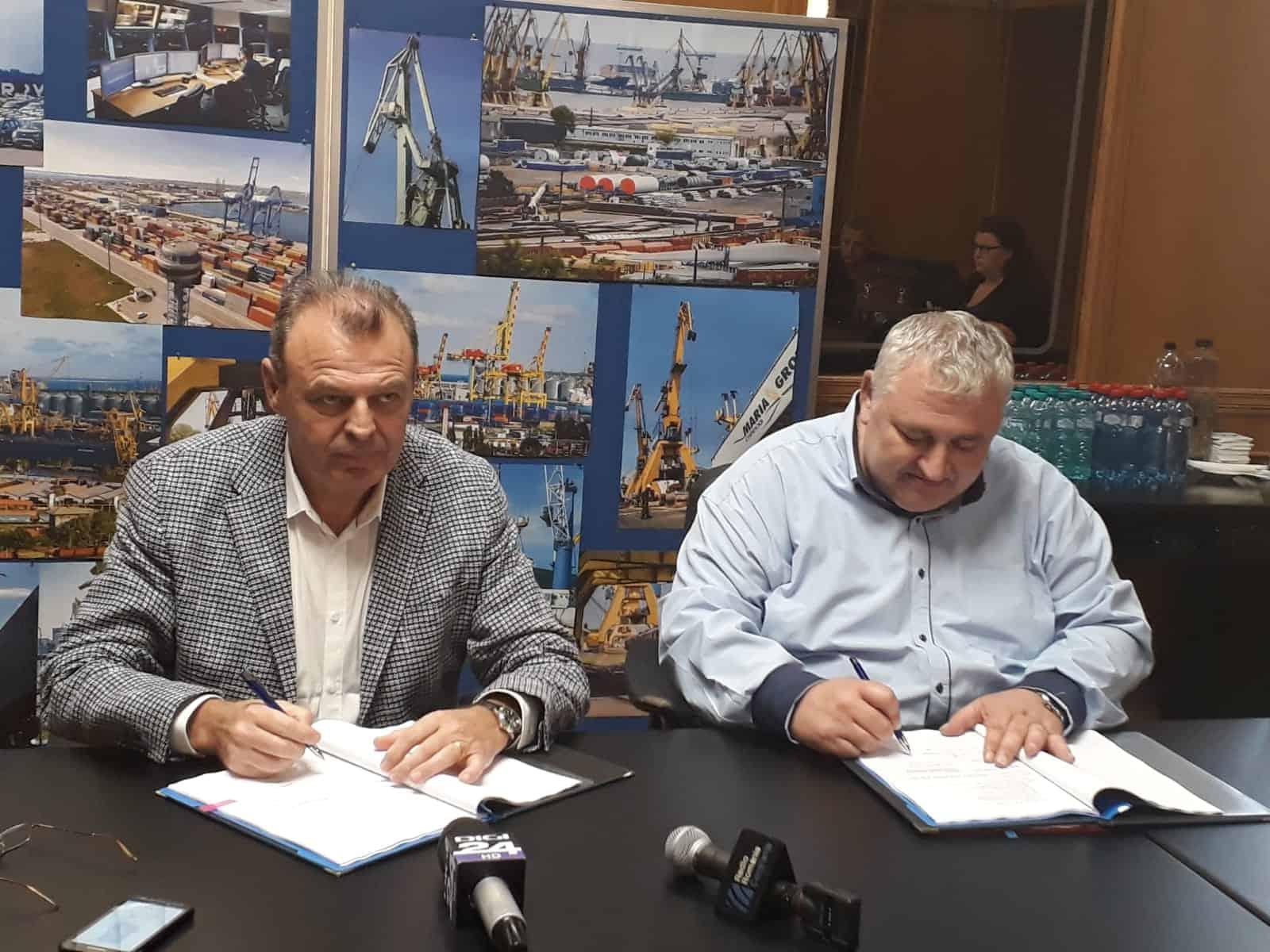 semnare contract apmc