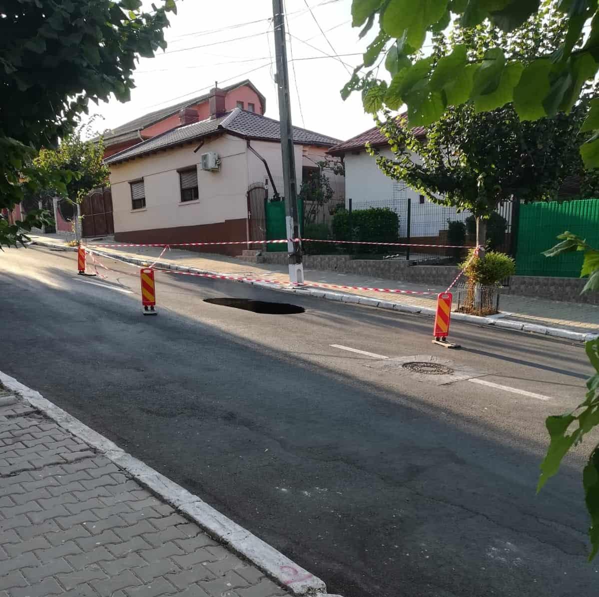 strada rupta Cernavoda (2)