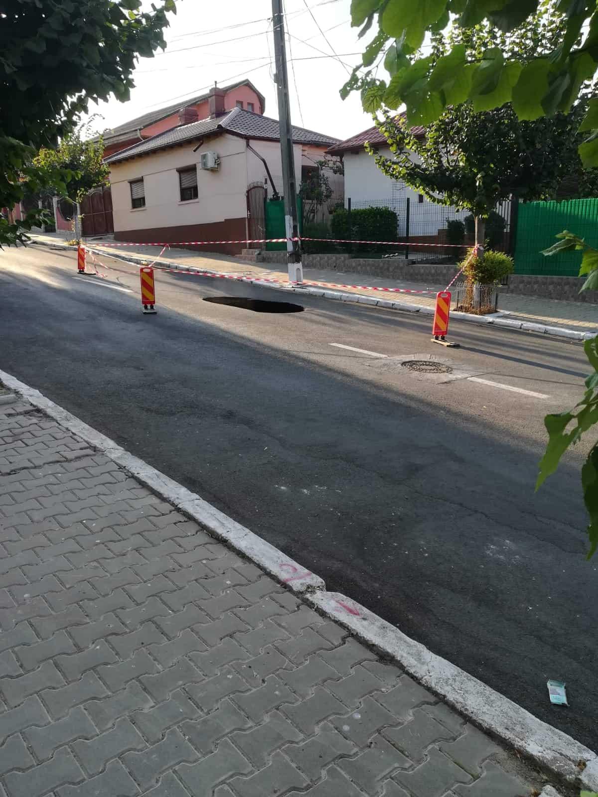 strada rupta Cernavoda