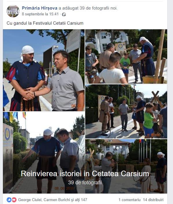 Cu gandul la Festivalul Carsium