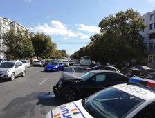 Accident rutier pe b-dul Lăpușneanu! Două persoane au fost rănite pe trecerea de pietoni