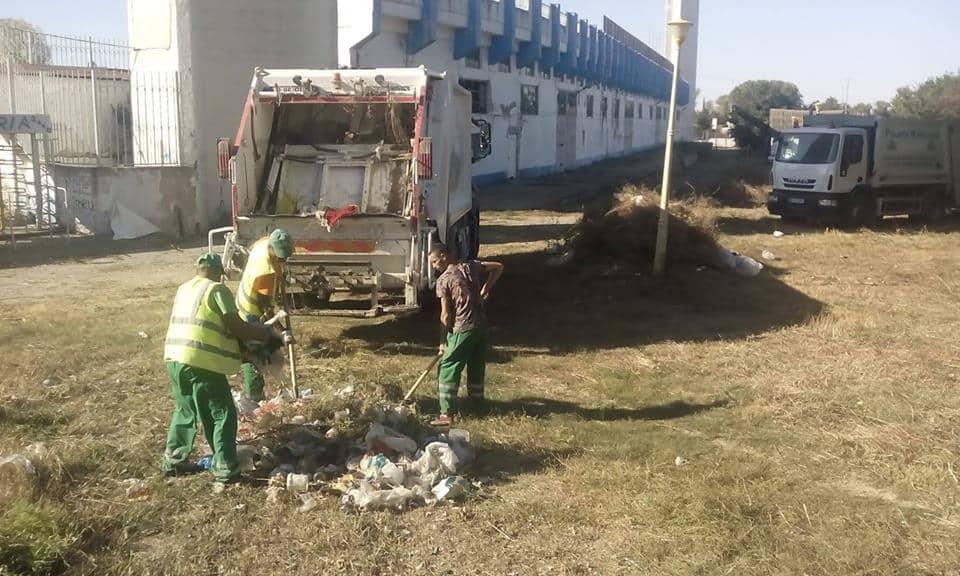 igienizare stadion farul