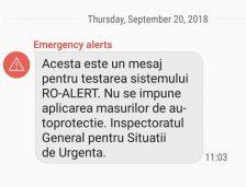 """A început testarea Sistemului """"Ro-Alert"""" la nivelul județului Constanța"""