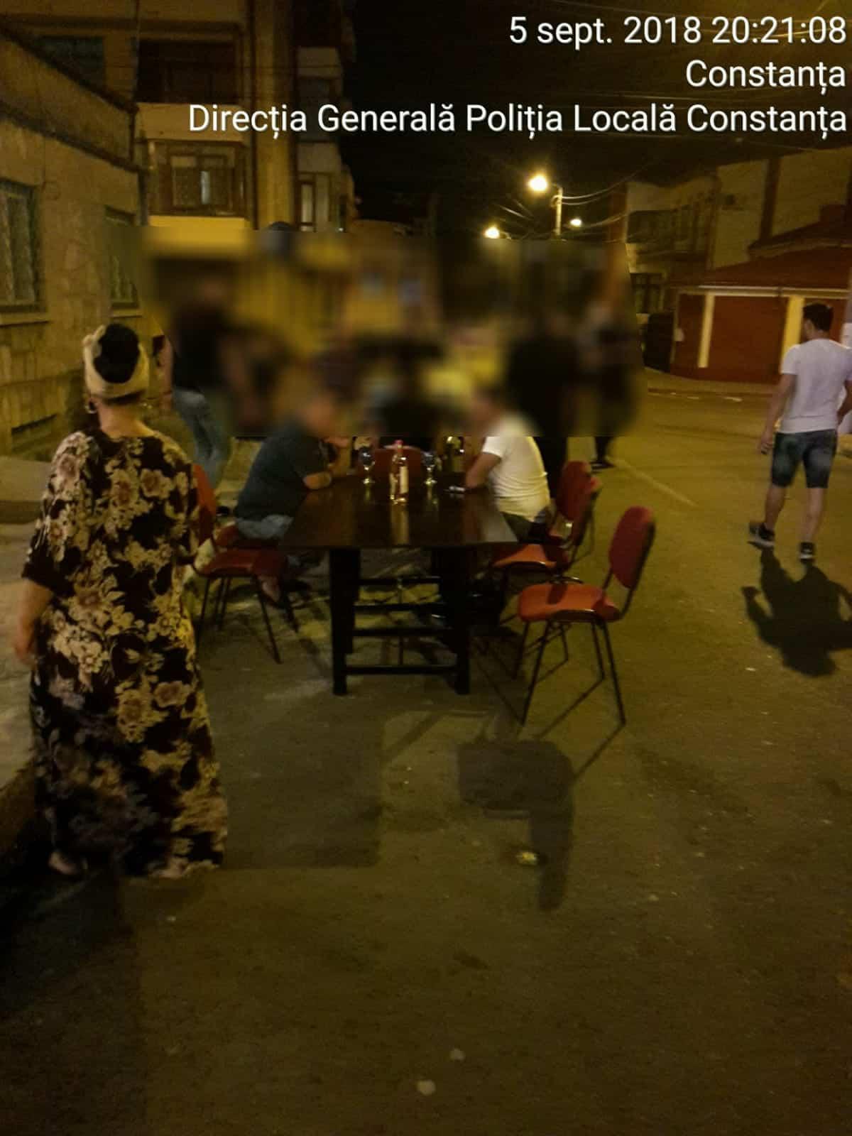 politia locala scandal petrecere noaptea