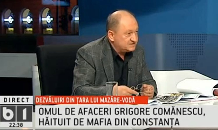 Grigore Comănescu a cumpărat compania minieră Somaco Construct în anul 2005, cu 4 milioane de euro. În 2008, cariera a fost retrocedată cu încălcarea art. 4 alin. 1 din Legea 1/2000 către clienții lui Ionel Hașotti. Deși abuzul este cunoscut, autoritățile judiciare refuză să facă lumină în acest caz.