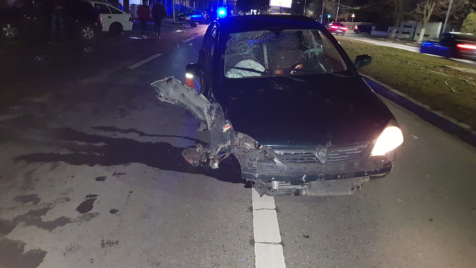 accident rutier noaptea