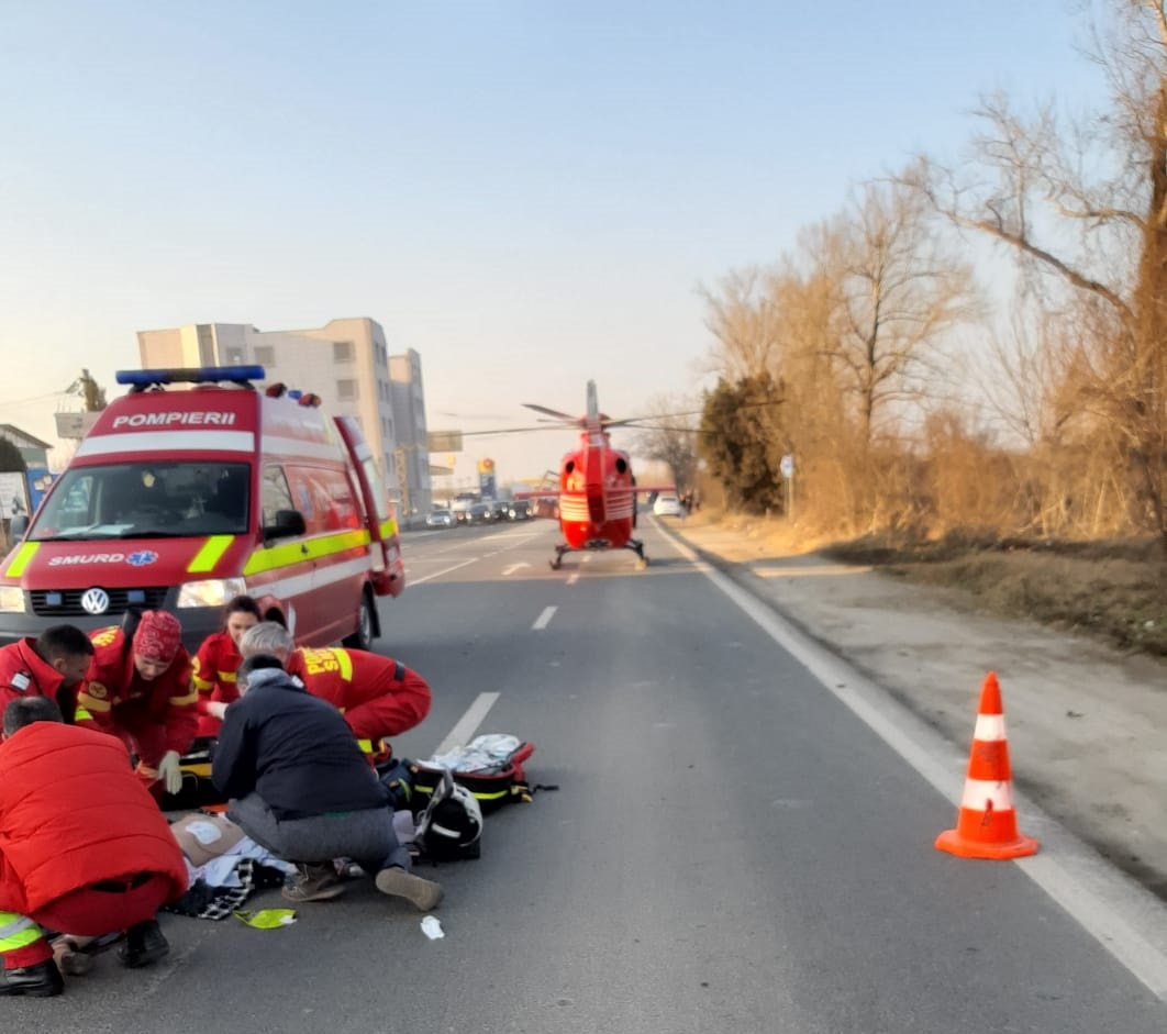 accident rutier grav Mangalia