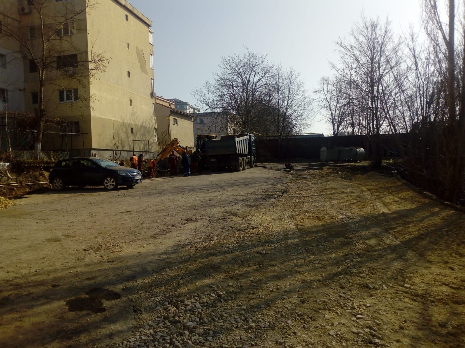 amanajare parcare str Unirii (1)