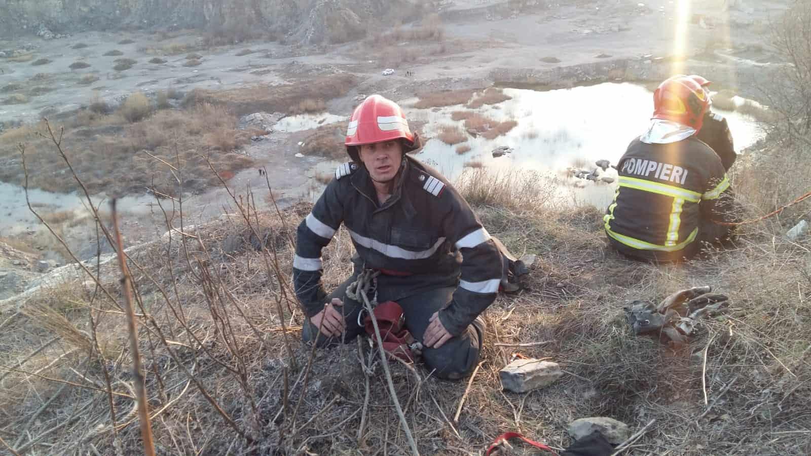 pompieri extenuati