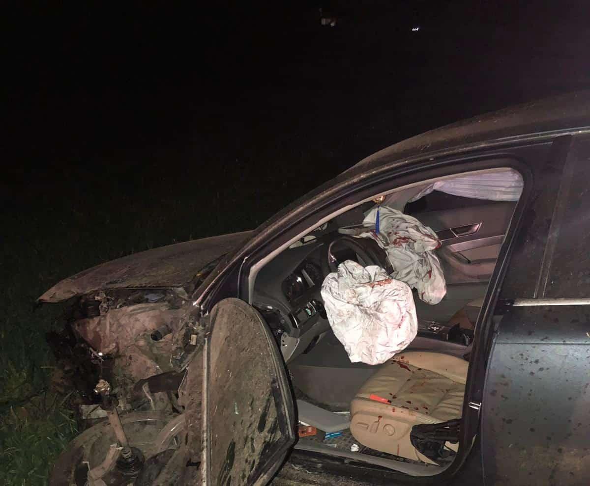 accident langa Adamclisi