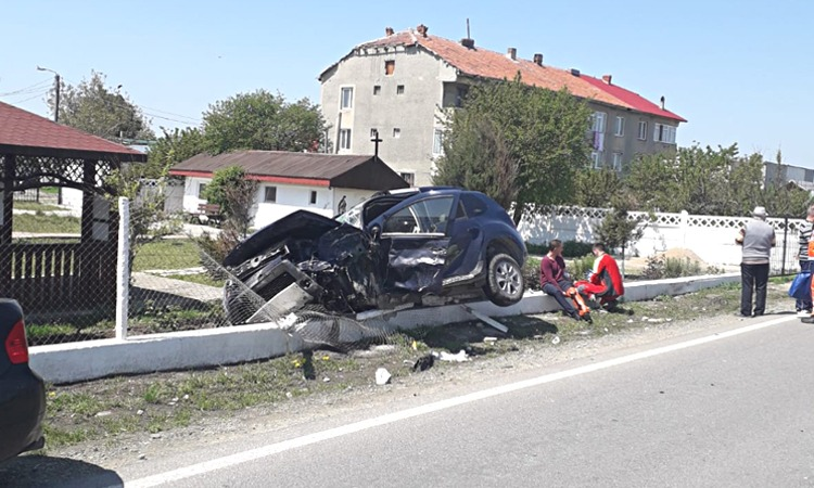 accident rutier poza buna
