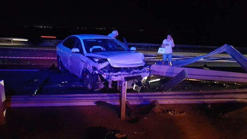 accident pe autostrada noaptea4