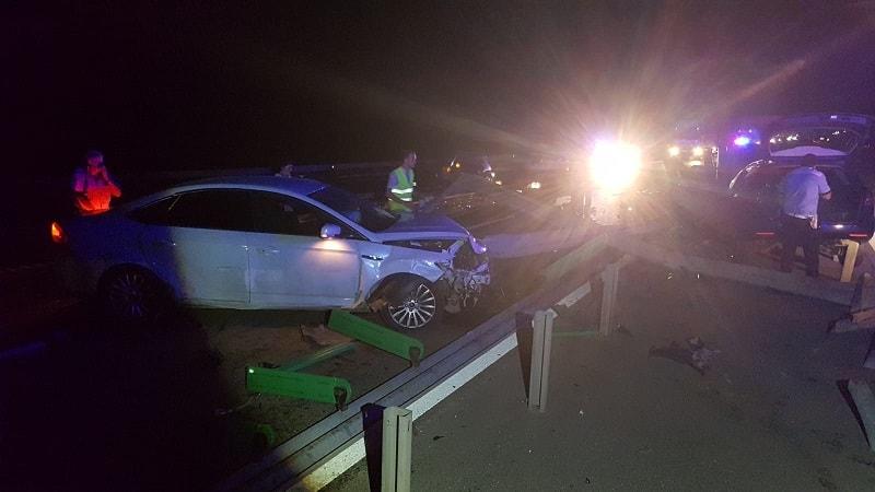 accident pe autostrada noaptea5